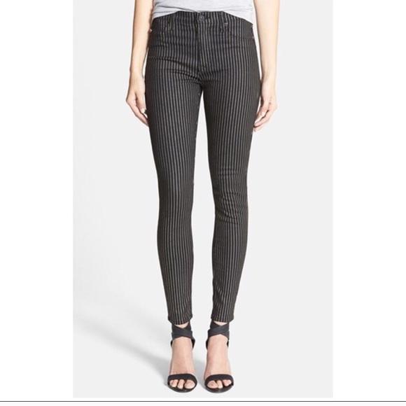 648087e02db Hudson Jeans Jeans   Hudson Nwt Gold Stripe High Waist Barbara ...
